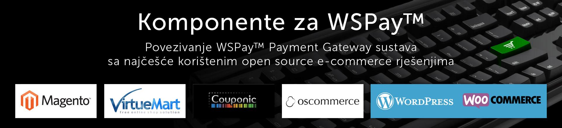 Komponente za WSpay™