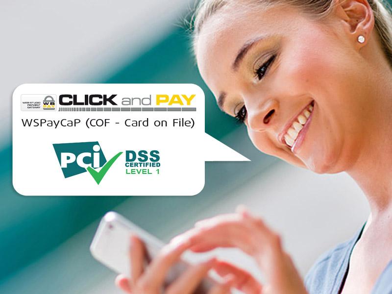 Trgovci, povećajte promet do 50%! Aktivirajte WSPayCaP plaćanje jednim klikom!